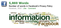 Facebook, Privacy and Health: Path of the Blue Eye Infographic