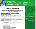 Healthcare Marketing Strategies Summit - Call for Speakers