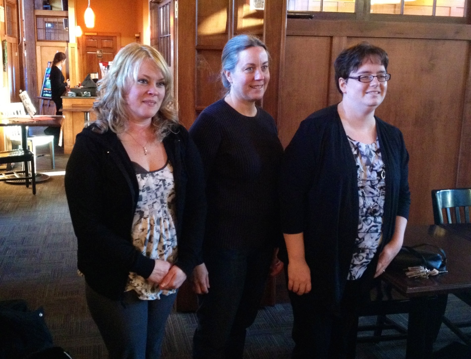 Three of our bloggers for the Merrimack Valley Moms Blog.