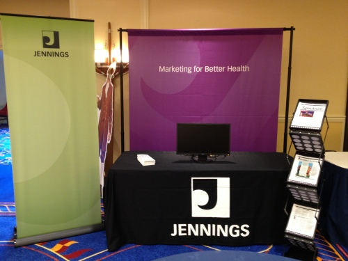 The New Jennings Trade Show Set-up