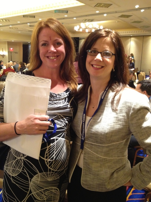 Vanessa Kortze from Lawrence General Hospital & Brooke Hynes from Tufts Medical Center