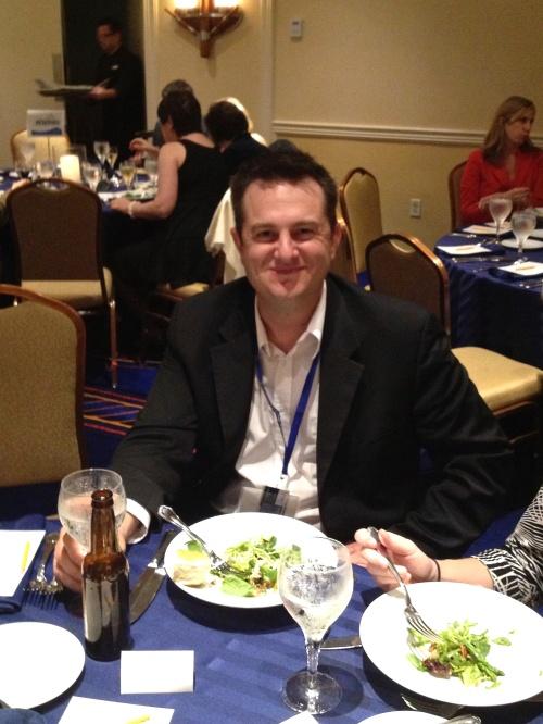 Jeff McPherson of SilverTech at the Lamplighter Dinner