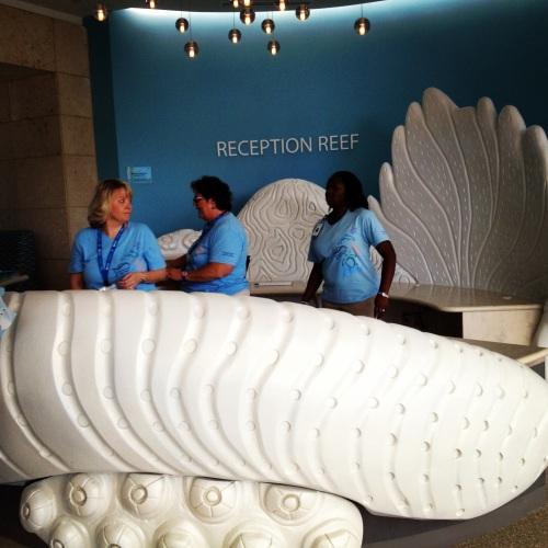 Reception Reef