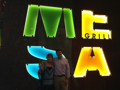 Dinner at Bobby Flay's Mesa Grill in Vegas