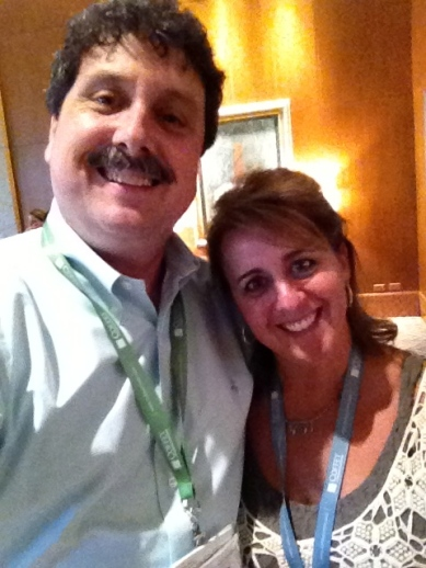 Selfie with my friend Angie at SHSMD