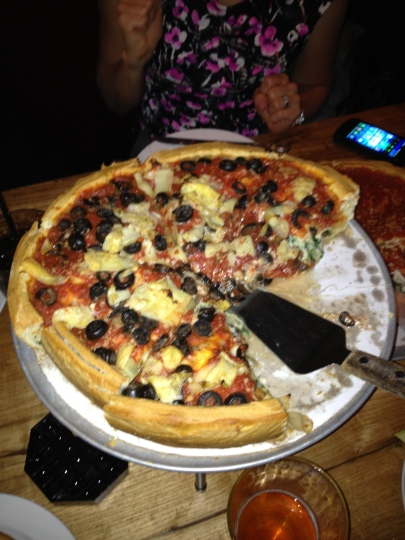 Chicago Deep Dish Pizza While Attending SHSMD