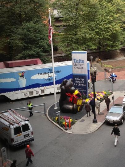 Touring Floating Hospital for Children in Boston