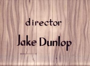 Wood Grain Director's Slate