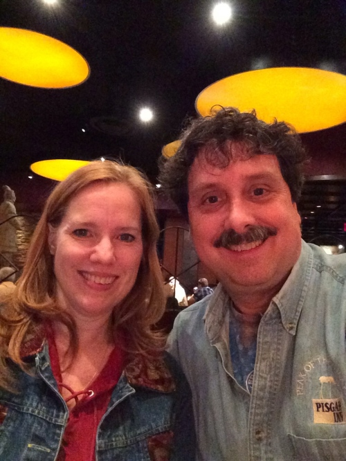 At PF Changs with Scotti, celebrating my 53rd birthday.