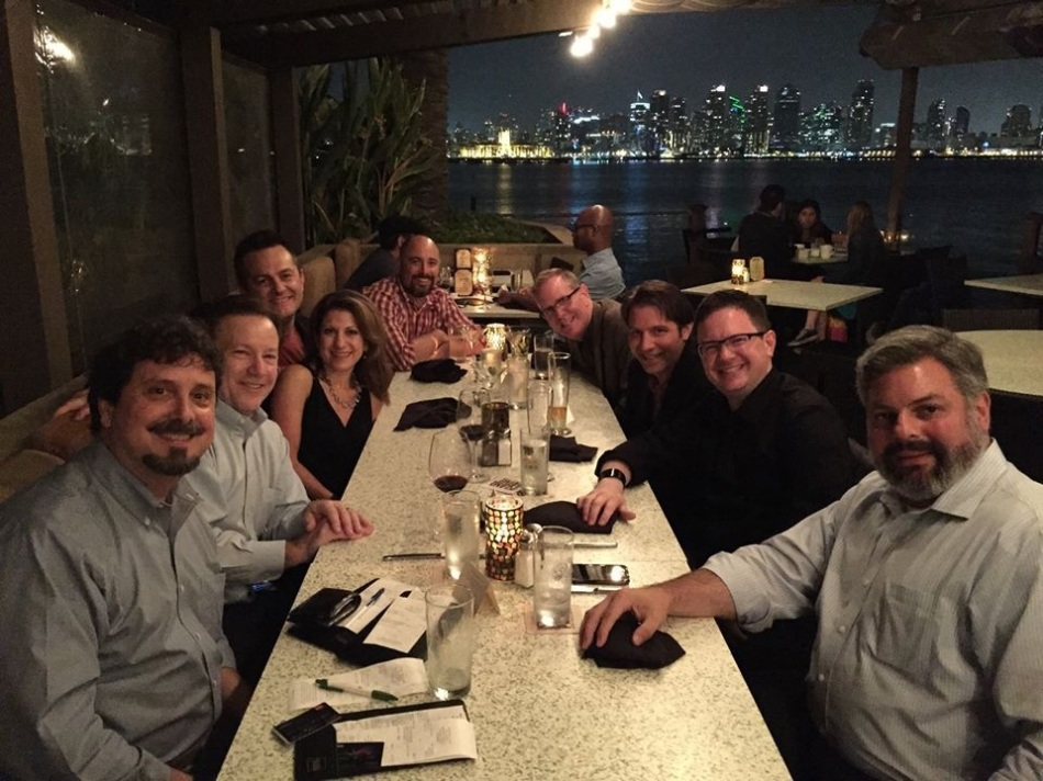 Dinner with an amazing group at #SHSMD14