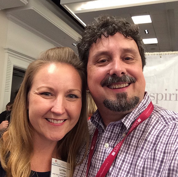With Catrina Dawson of Spirit of Women at #SHSMD14
