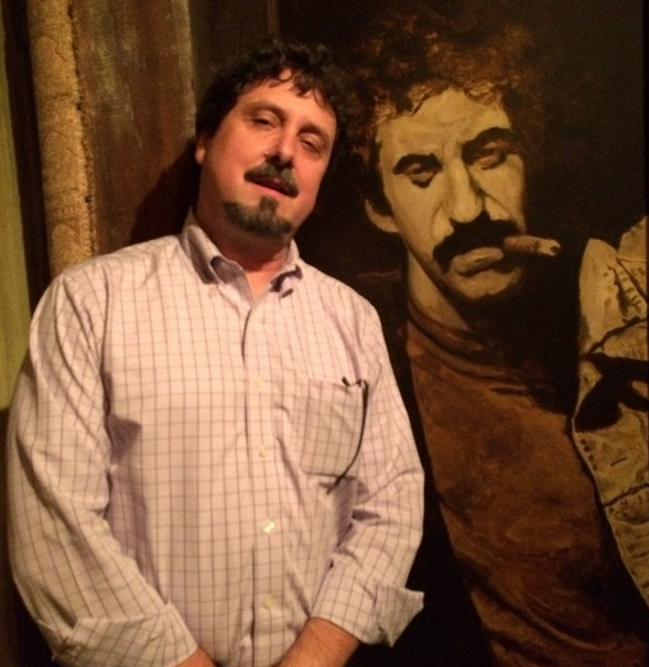 With the late, great Jim Croce at his restaurant in San Diego, #SHSMD14